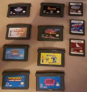 14 games for game boy or Nintendo ds